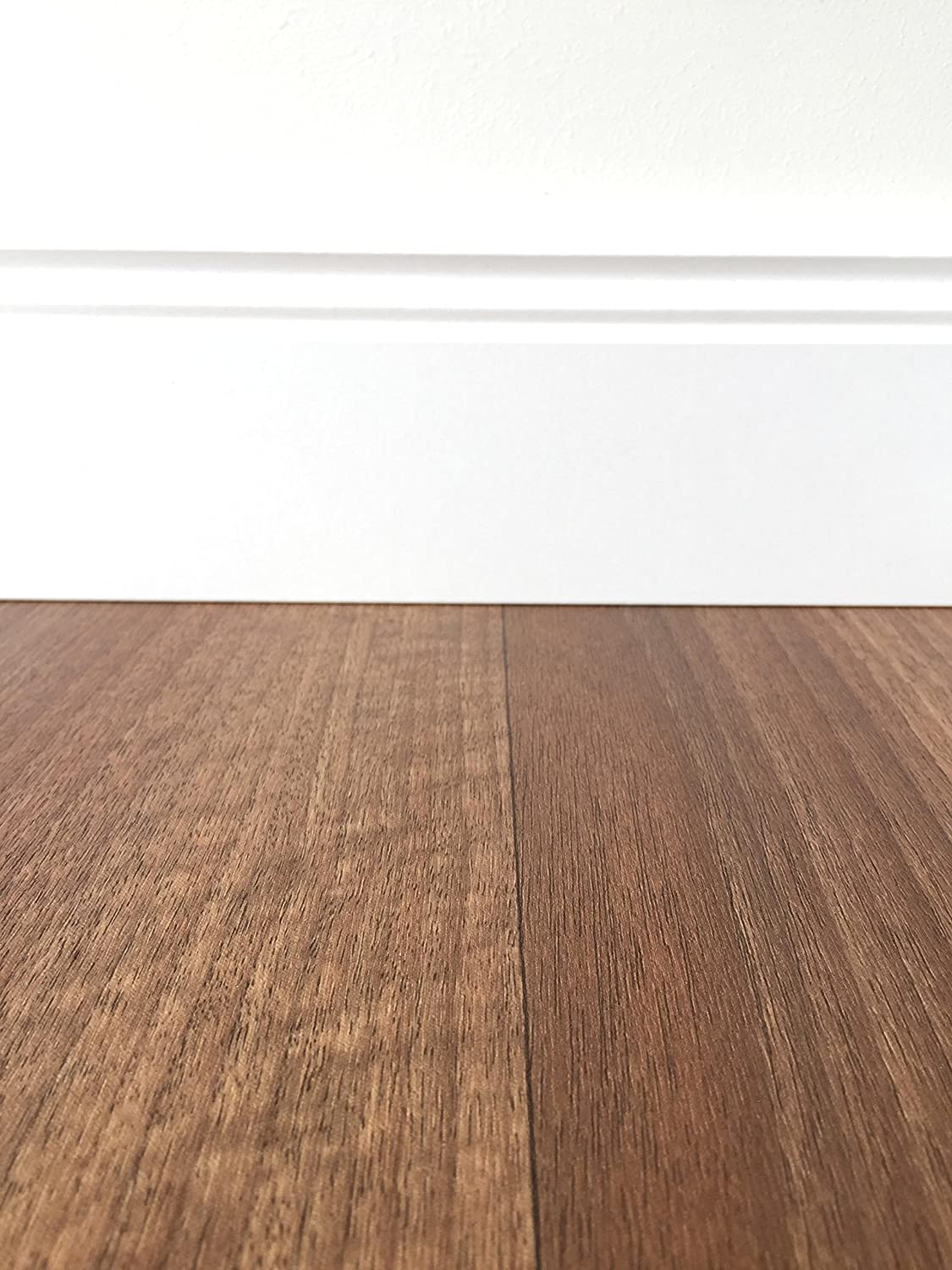 Pvc Flooring Wood Effect Red Brown Vinyl Floor 2 M Wide 5 M Long Suitable For Underfloor Heating Vinyl Planks Durable Easy To Clean Floor Coating For Commercial Or Residential Amazon Co Uk Diy Tools