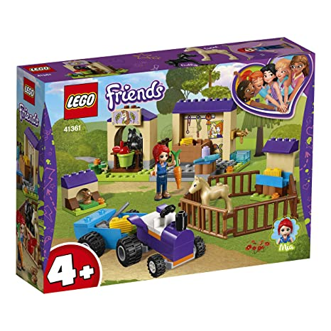 Lego 41361 Friends Mias Foal Stable Building Set Mia Mini Doll And