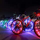Amazon Price History for:Bright Led Bike Wheel Light - DAWAY A01 Waterproof Bicycle Tire Light Strip, Safety Spoke Lights, Cool Bike Accessories, Light Up Wheels, Lightweight, 2 Modes, Include Battery, 1 Year Warranty, 1 Pack