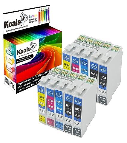 Koala - Cartuchos de Tinta compatibles con Epson 16XL para Epson ...