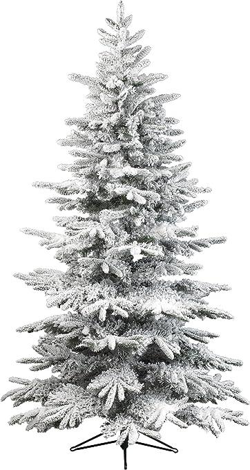 Albero di natale sintetico 180cm bianco albero artificiale