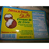 Coconut Cream Candy (Cremas De Coco) By Fabrica De Dulces La Fe