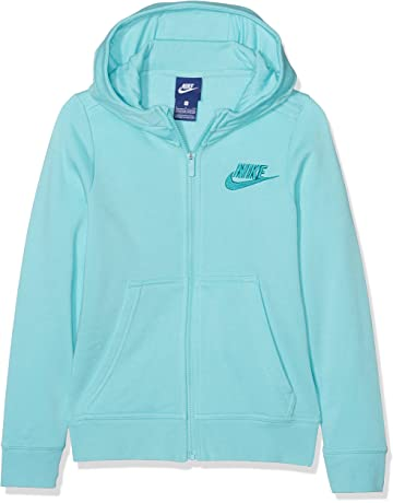 1dd93ae49e8e5 Mizuno Sweat à Capuche Heritage · Nike g NSW Hoodie FZ Club GFX Sweat,  Filles