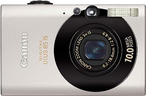 Canon Digital Ixus 85 Is Digitalkamera 2 5 Zoll Schwarz Kamera
