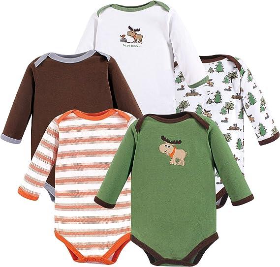 Amazon.com: Luvable Friends Unisex Baby Long-Sleeve ...