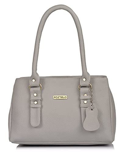 4aa0ff34604 Fostelo Westside Women's Handbag (Grey): Amazon.in: Shoes & Handbags