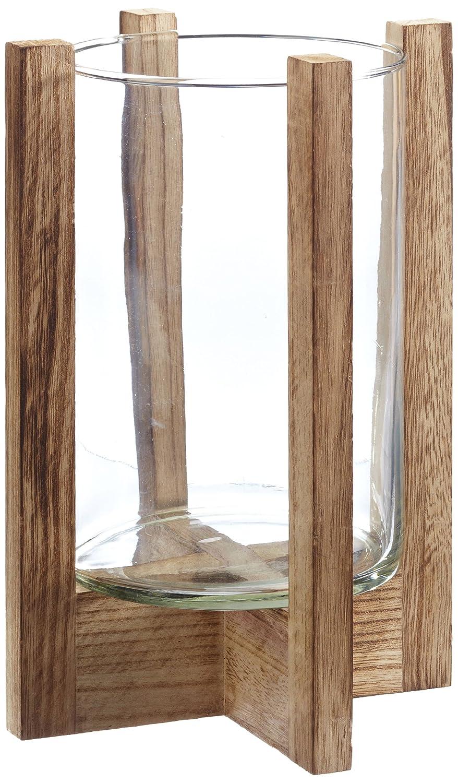 Montana 057850 GK/2 - Portacandele in legno e vetro Avalon