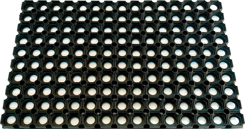 Gummimatte offen Rahmenma/ß 500x800mm