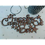 Disney Style Personalised 'Christmas Eve Box' Sign. Wooden Craft Sign.