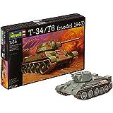 Revell T-34/76 (model 1943) Model Kit, 1:35 Scale, 19 cm