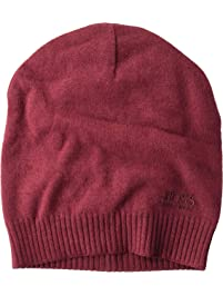 Hugo Boss Men s Basic Tonal Logo Knit Beanie Hat (One Size Fits Most) 69f2d2e1c615