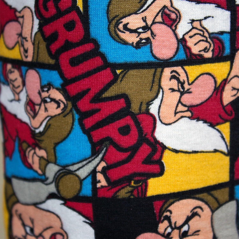 Disney - Pantalón de Pijama - para Hombre Grumpy Collage Print (Multicoloured) XL: Amazon.es: Ropa y accesorios
