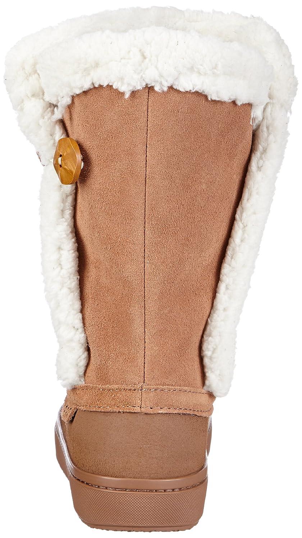Crocs Modessa Suede Button, Mujer Bota, Marrón (Bronze/Oatmeal), 37-38 EU: Amazon.es: Zapatos y complementos