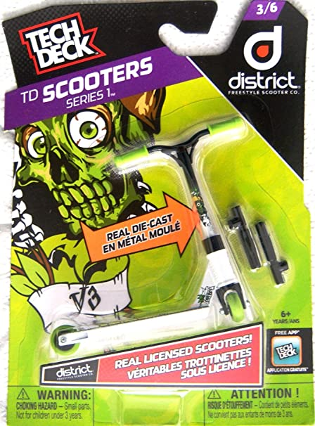 Amazon.com: Tech Deck Scooters Series 1 District Freestyle ...