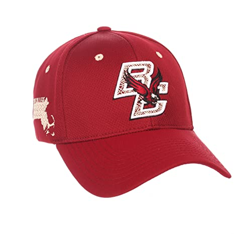 separation shoes 06fd5 a11bc ... hot boston college eagles zephyr cardinal red rambler stretch fit hat  cap m l 9cdbe 4fd22