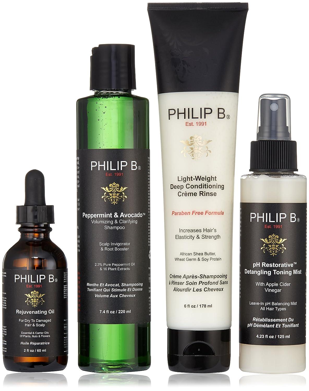 PHILIPB - Tratamiento para el Cabello y Cuero cabelludo en cuatro pasos, sin parabenos PHILIP B 08PF