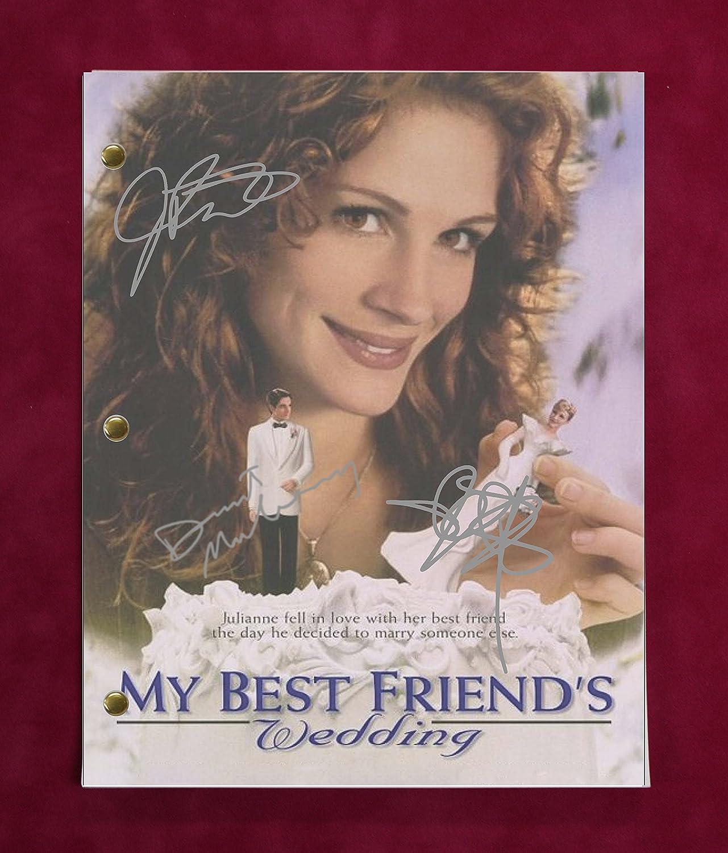 My Best Friends Wedding Script W Reproduction Signature