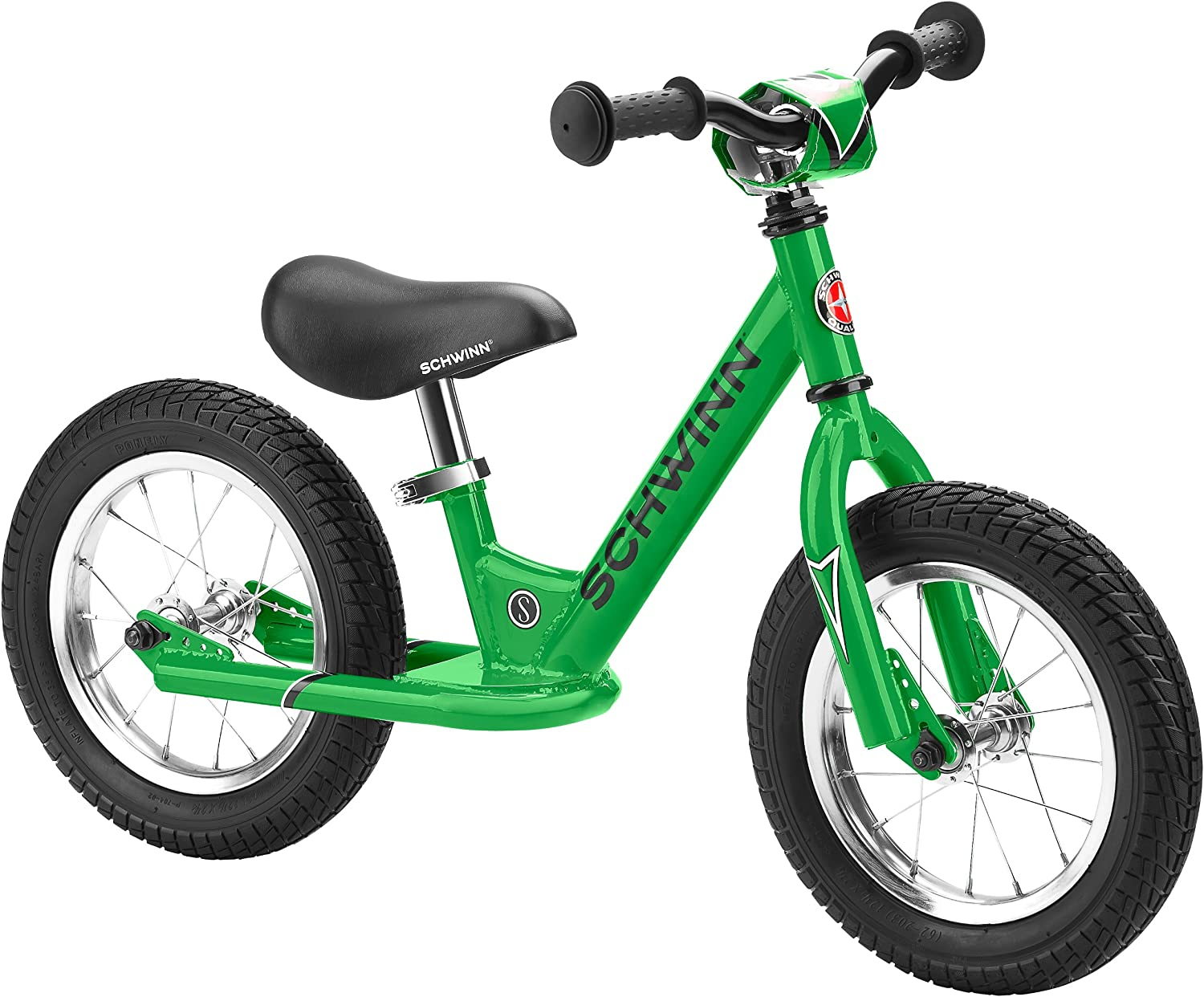 Schwinn Skip Toddler Balance Bike, 12-Inch Wheels, Beginner Rider Training, Multiple Colors