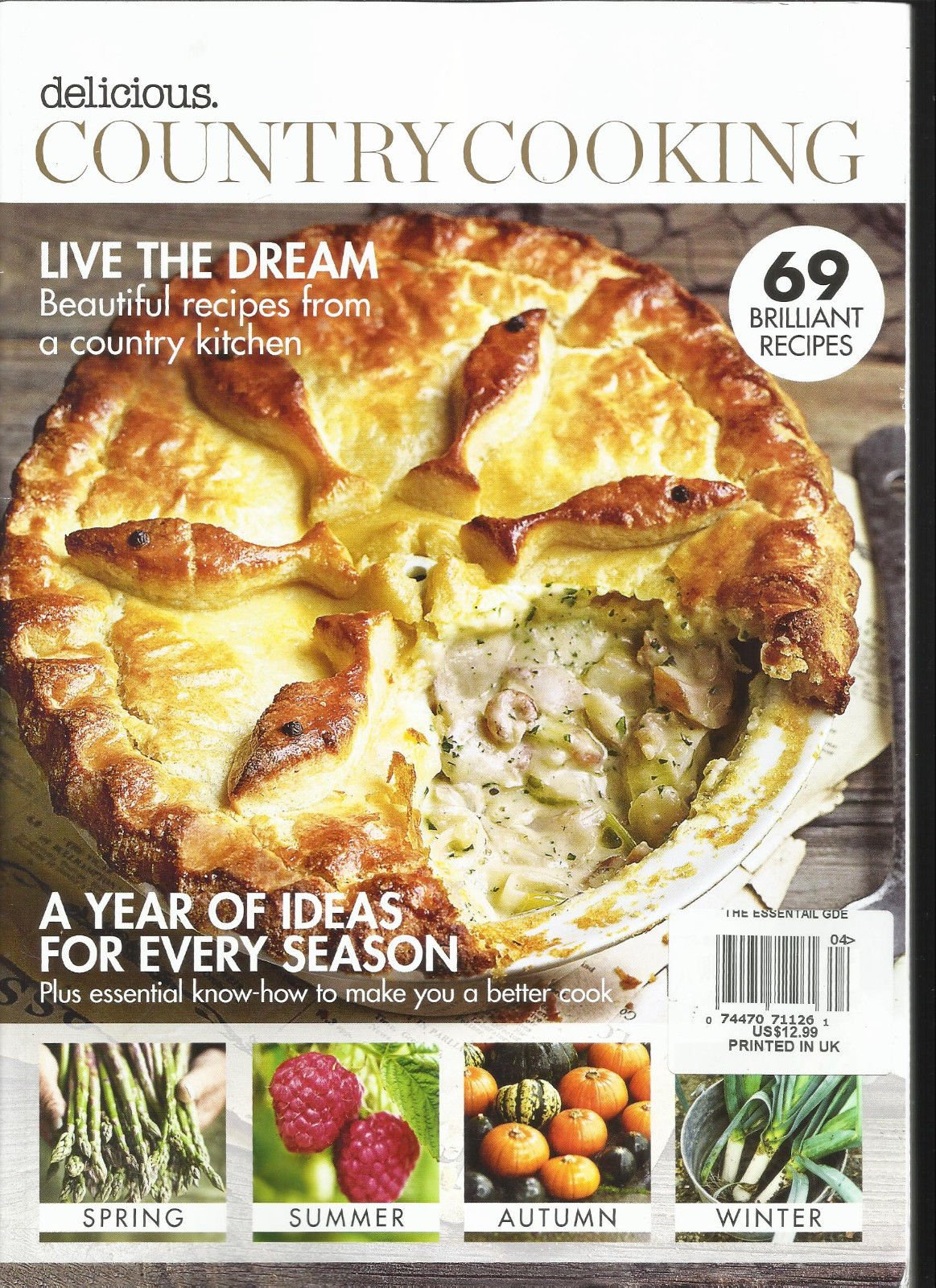 DELICIOUS COUNTRY COOKING MAGAZINE, ISSUE, NO. 4 69 BRILLIANT RECIPES