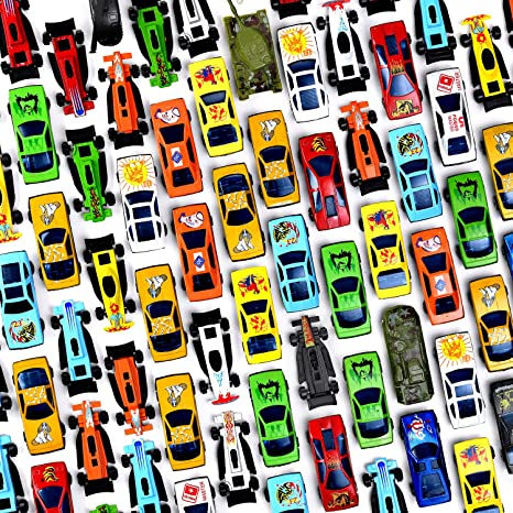 Amazoncom Prextex Pc Die Cast Toy Cars Party Favors Easter - Car show goody bag stuffers