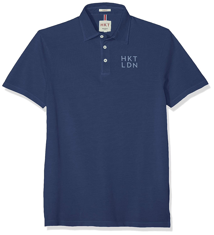 HKT by Hackett London Hkt Jersey SS Polo para Hombre: Amazon.es ...