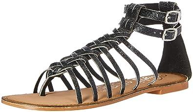 2f0cb653fe3 Naughty Monkey Women s Boardwalk Gladiator Sandal