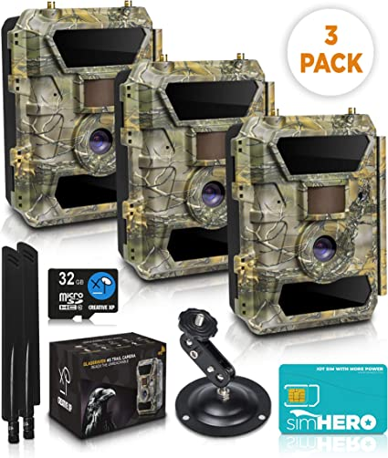 Outdoor trail hunting Camera Wifi IP 1080P Motion Detection Home Security cam