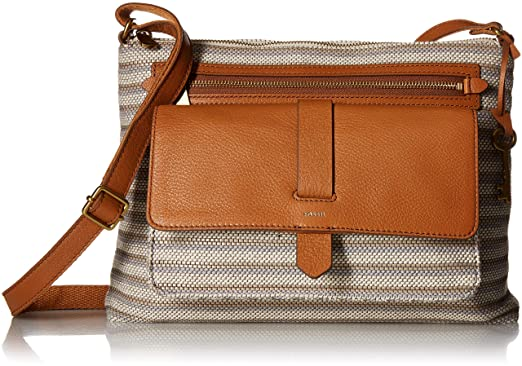 8427225ab Image Unavailable. Image not available for. Color: Fossil Kinley Small  Crossbody Bag ...