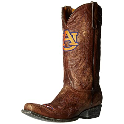 NCAA Auburn Tigers Men's Board Room Style Boots: Sports & Outdoors