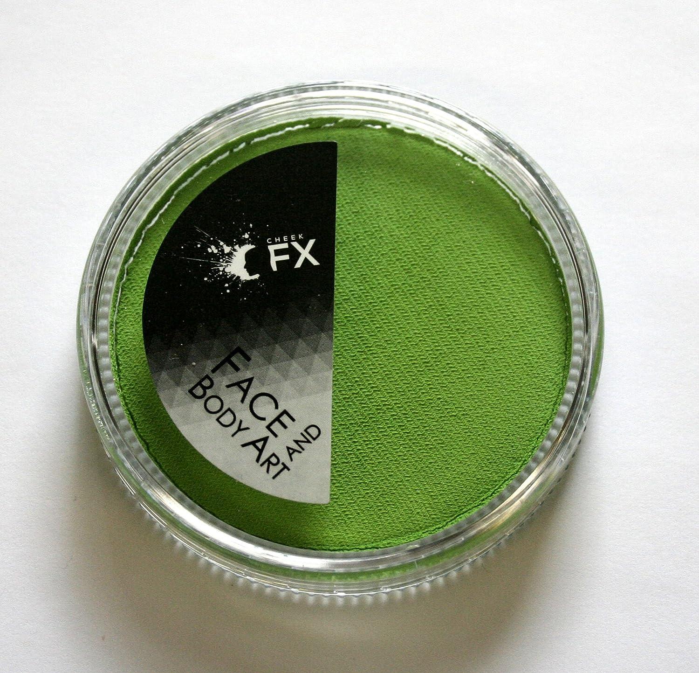 Light Green Body Painting Cake 30 grams Cheek FX
