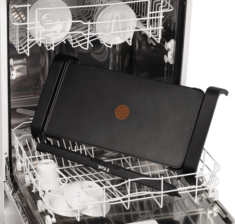 Tefal Thermospot CB540812 - Plancha de cocina de 2000 W con lisa, con thermospot que indica la temperatura, precalientamiento rápido, gran superfície ...