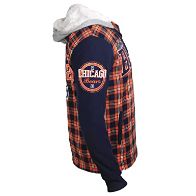 132c263b NFL Flannel Hooded Jacket