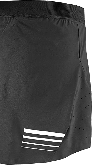 SALOMON Lightning Pro Skort W - Falda, Mujer, Negro(Black): Amazon ...