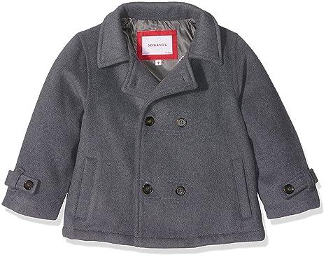neck & neck Niño-16I12002.81, Abrigo para Bebés, Gris Marengo 81