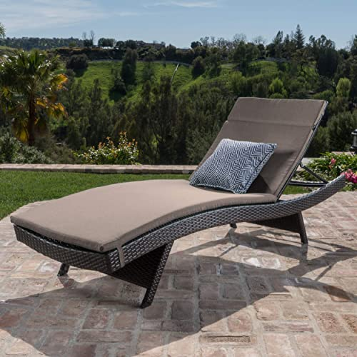Christopher Knight Home Salem Outdoor Wicker Adjustable Chaise Lounge