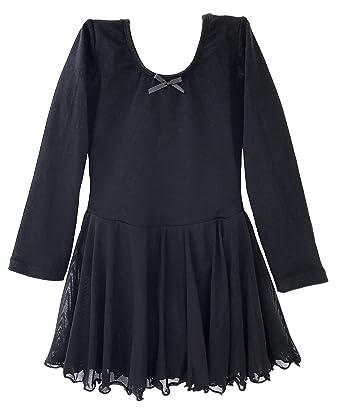 5c7d7229f0ce Amazon.com  Dancina Girls Skirted Leotard Ballet Dance Dress Long ...