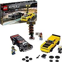 LEGO Speed Champions Dodge Challenger Srt Demon de 2018 y Dodge Charger R/T de 1970