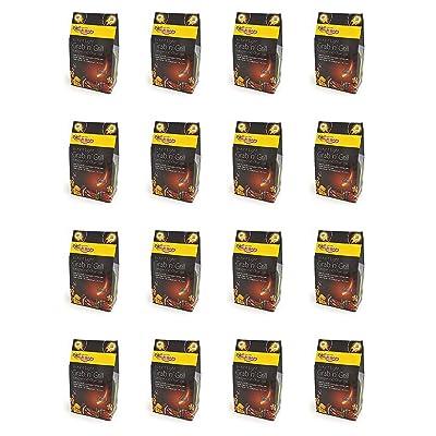 16 X Bar-Be-rapide Eclat Grab & Grill de sac de charbon de bois Lumpwood 500g Parfait pour pique-nique, barbecues bouilloire barbecues, Foyers et bien plus encore! Il suffit de lumière, et faire cuire!
