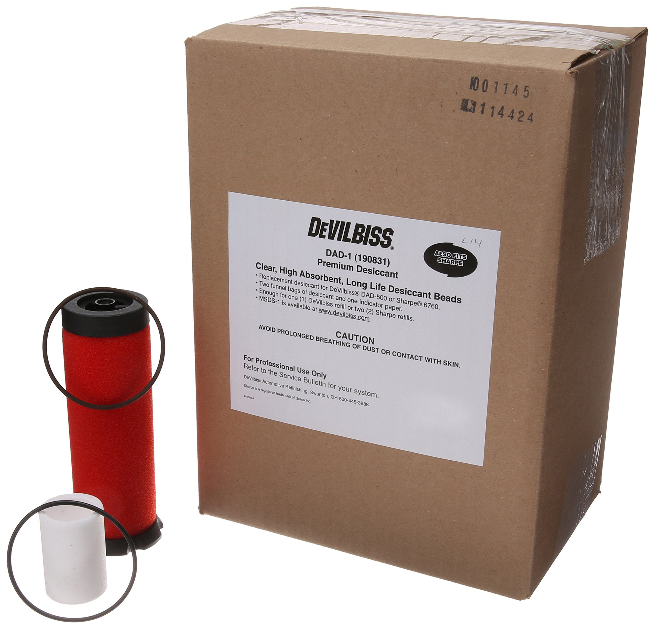 DeVilbiss DAD600-1 Desiccant Dryer Tune-Up Kit with Coalescing Filter Element