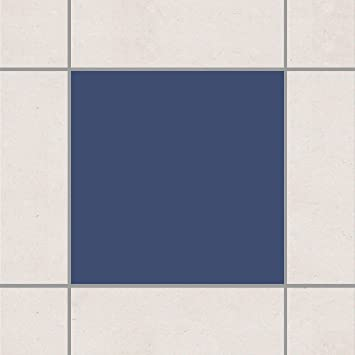 Apalis Fliesen Aufkleber U2013 Farbe Grau Blau 10 Cm X 10 Cm, Set Größe: