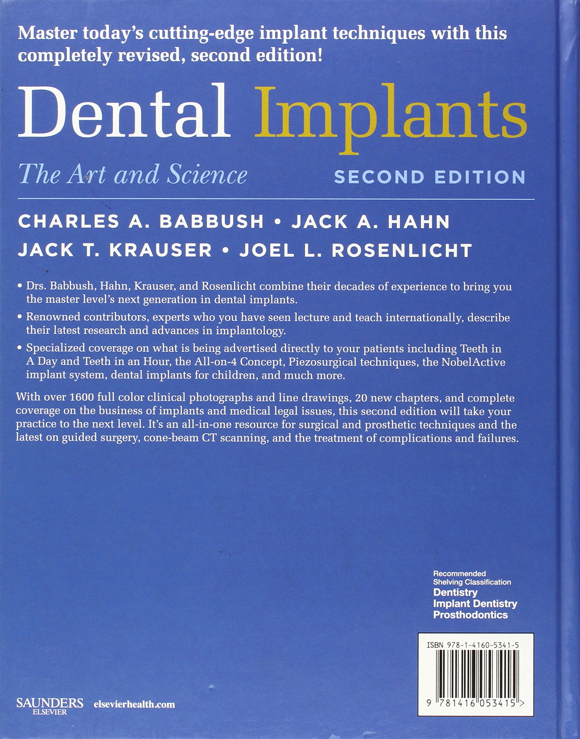 Dental Implants: The Art and Science, 2e