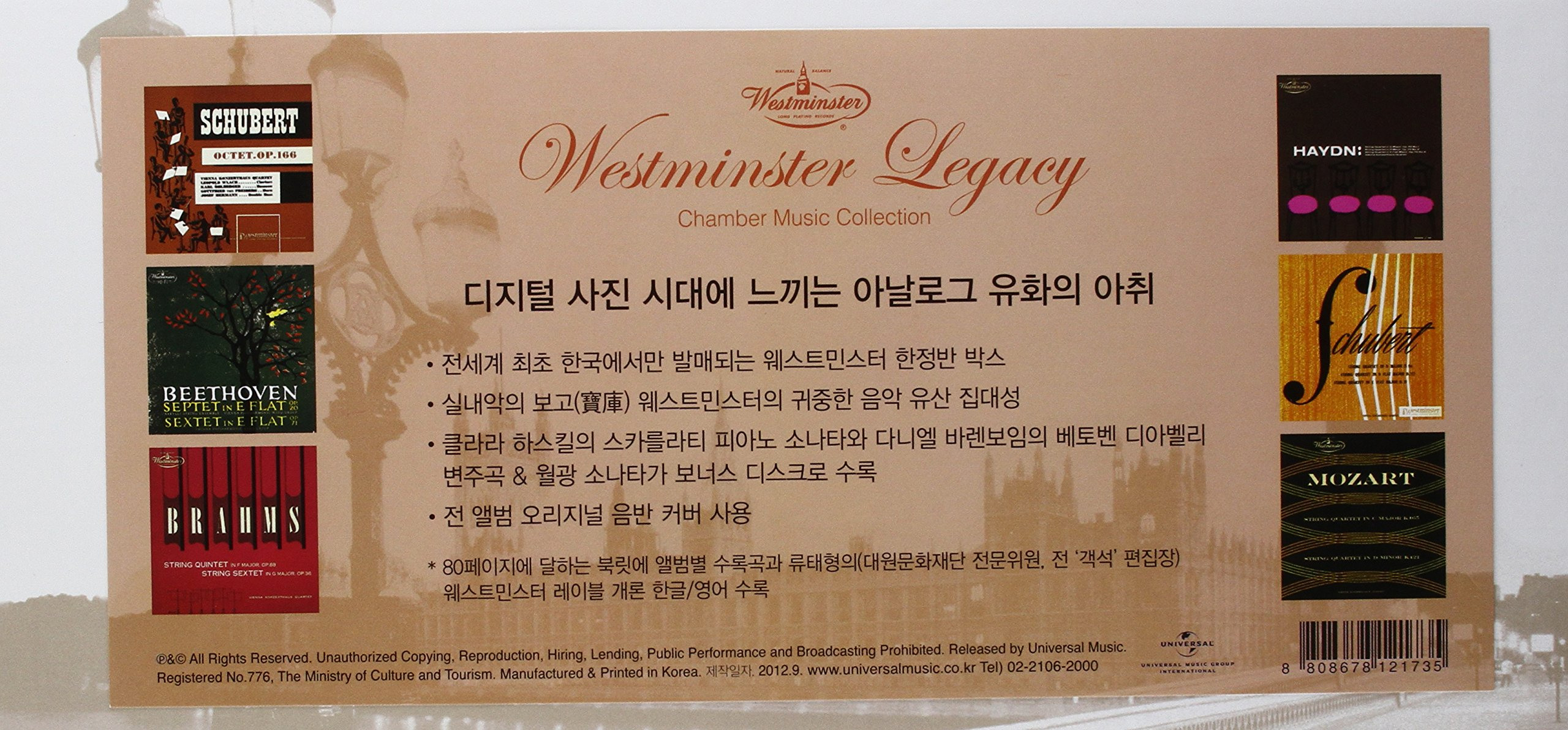 Westminster Legacy by Imports