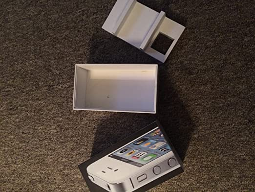 Amazon iphone 4 white empty box only no phone or iphone 4 white empty box only no phone or accessories included sciox Gallery