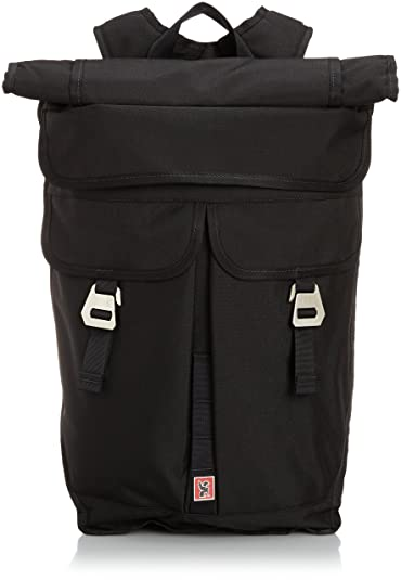 3efd573b796a Chrome Industries Pawn Expandable Rolltop Backpack (BLACK)  Amazon.co.uk   Shoes   Bags