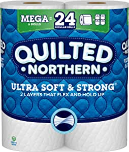 Quilted NorthernUltra Soft & Strong, Toilet Paper, 6 Rolls