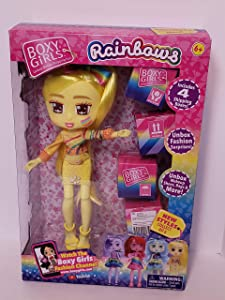 Boxy Girls - Rainbows Limited Edition - Goldie