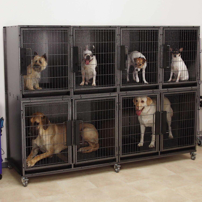 ProSelect Modular Kennel Cage Bank Kit, 6-Units