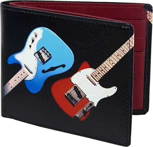 Golunski New Guitar Quality Leather Retro Wallet 7-520//1