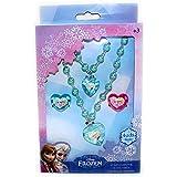 Disney Frozen Necklace Bracelet Rings Elsa Anna Kids Jewellery Boxed