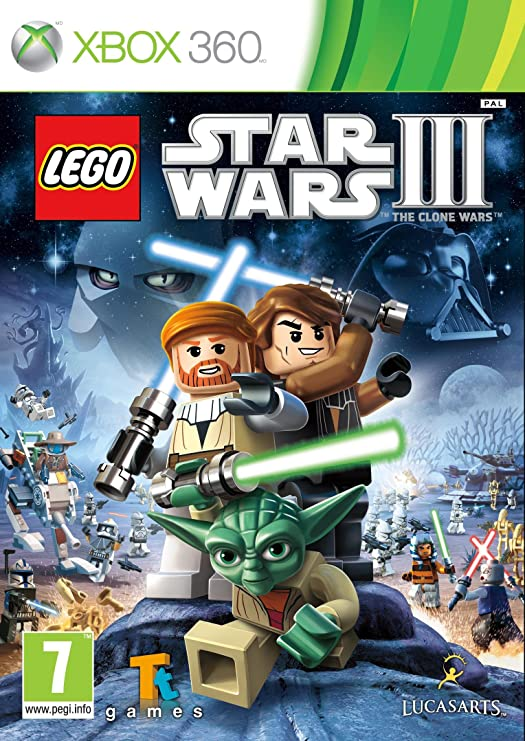 LEGO Star Wars 3: The Clone Wars (Xbox 360) [Importación inglesa ...